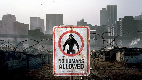 No Humans Allowed Available in 1920x1080 Pixel, an Interesting Sign, Who is Up in There? A Monster? - TV & Movies Wallpaper
