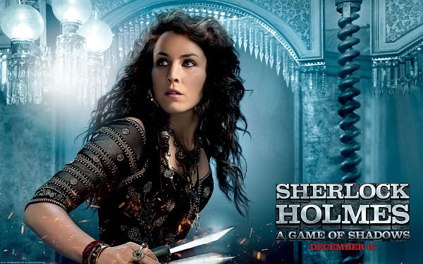 Noomi Rapace in Sherlock Holmes in Pixel of 1920x1200, Lady in a Sharp Knife, She is Appealing Yet Dangerous, Stay Away from Her - TV & Movies Post
