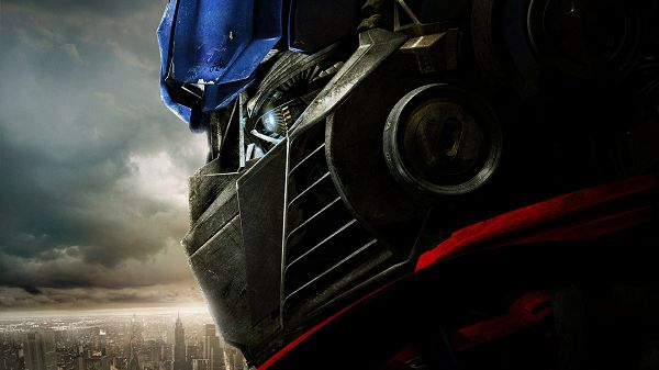 click to free download the wallpaper--Optimus Prime in 1920x1080 Pixel, an Activated Blue Robot, Your Safety is Attached with Priority, Hero - TV & Movies Post