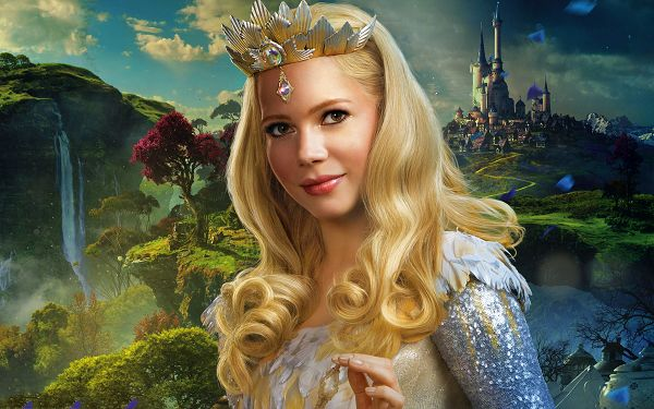 click to free download the wallpaper--Oz the Great and Powerful Wallpaper, the Blonde Queen-Like Lady is the Most Impressive, She Shall Look Good on Various Devices - TV & Movies Wallpaper