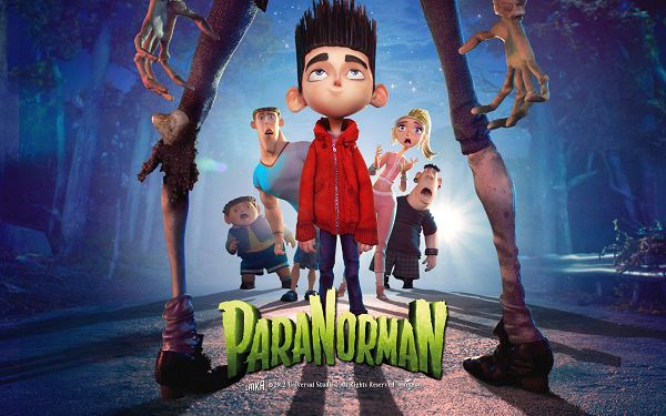 click to free download the wallpaper--Paranorman 2012 in 1920x1200 Pixel, a Brave and Indifferent Boy Toward the Scary Monster, You Have a Good Leader - TV & Movies Wallpaper