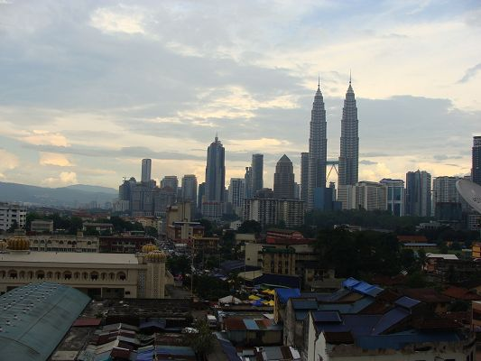Petronas Towers Image