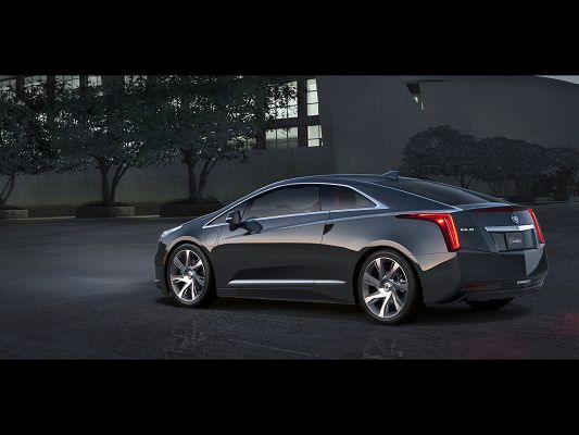 click to free download the wallpaper--Pics of Top Gear, Cadillac ELR from Side Angle, Everything Around It Shall be Still