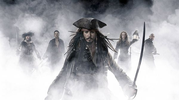 click to free download the wallpaper--Pirates Of The Caribbean in 1920x1080 Pixel, Johnny Depp, Follow Your Good and Handsome Leader, He Will Do This Well - TV & Movies Wallpaper