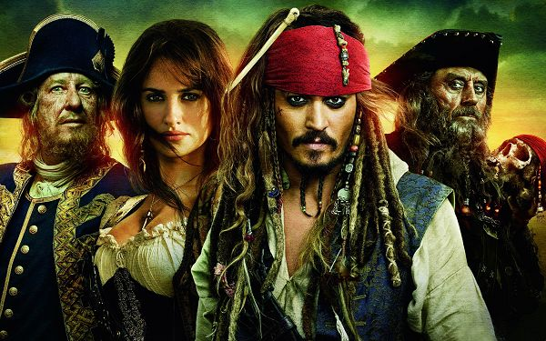 click to free download the wallpaper--Pirates of The Caribbean Stranger Tides Post in 2560x1600 Pixel, All Brave and Good-Looking Guys, Shall Strike a Deep Impression - TV & Movies Post