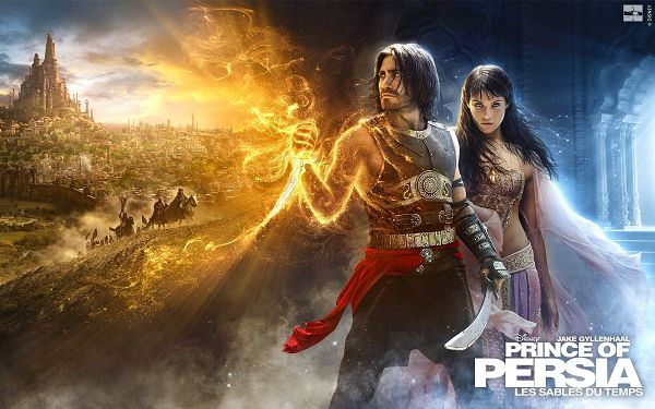 Prince of Persia Sands of Time Post in 1920x1200 Pixel, a Strong and Powerful Man with His Beautiful Girl, Quite a Fit - TV & Movies Post