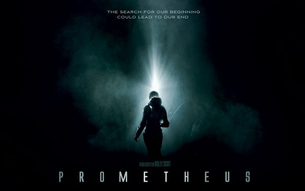 click to free download the wallpaper--Prometheus 2012 in 1920x1200 Pixel, Female Walking Toward the Dark, You Bet She Will Have a Bright Future - TV & Movies Wallpaper
