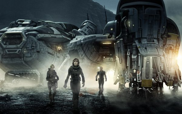 click to free download the wallpaper--Prometheus in 2880x1800 Pixel, Passengers Off their Hard Journey, Shall Look Good and Fit Various Digital Devices - TV & Movies Wallpaper