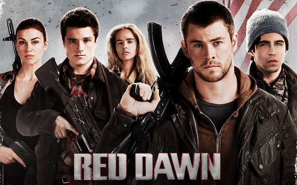 Red Dawn Movie in 2880x1800 Pixel, All People in Weapons and Serious Facial Expression, Fight is to Break out - TV & Movies Wallpaper