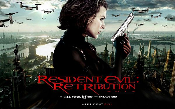 click to free download the wallpaper--Resident Evil 5 Retribution in 1920x1200 Pixel, in 3D Style, a Miserable and Dangerous World is Presented - TV & Movies Wallpaper
