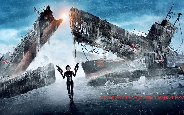 Resident Evil Retribution in 2560x1600 Pixel, a Brave and Tough Lady, She is Hard to Beat, Let's Pray for Her Good - TV & Movies Wallpaper