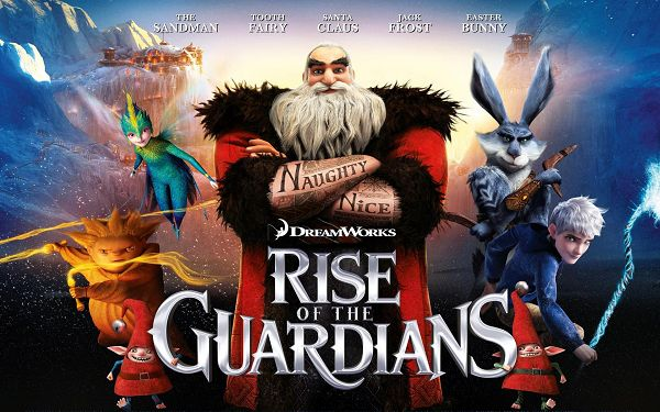 click to free download the wallpaper--Rise of the Guardians 2012 in 1920x1200 Pixel, All Characters Have Got Unique Weapons and Facial Expressions, They Are Powerful and Fit - TV & Movies Wallpaper
