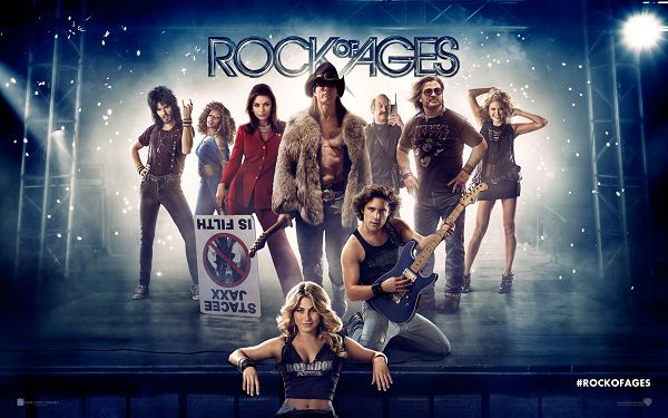 click to free download the wallpaper--Rock of Ages 2012 in 2560x1600 Pixel, All Young and Energitic, a Wonderful Performance is to be Put on - TV & Movies Wallpaper