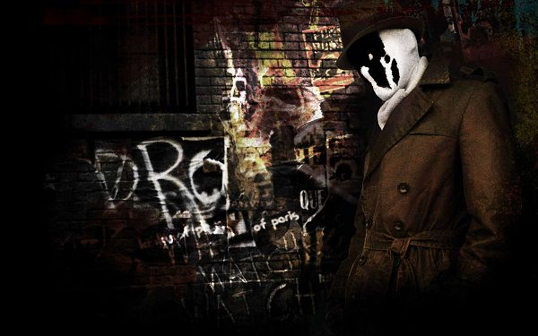 Rorschach in Watchmen in 2560x1600 Pixel, Man in Mask, Put Against Dark Background, is Depressing and Fit - TV & Movies Wallpaper