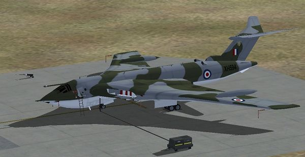 click to free download the wallpaper--Screenshot of Aeroplane Show, Handley Page Victor 100 Squadron on the Ground