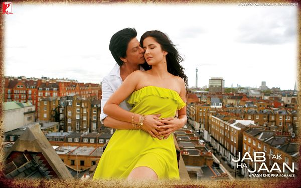 Shahrukh Katrina Kaif Jab Tak Hai Jaan in 1920x1200 Pixel, Kissing Each Other, a Romantic Scene that Makes One Feel Loved - TV & Movies Wallpaper