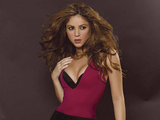 Shakira HD Post in 1280x960 Pixel, Pink Tight Dress with Black Bra, She is Brave and Hot, Should Fit Various Devices - TV & Movies Post