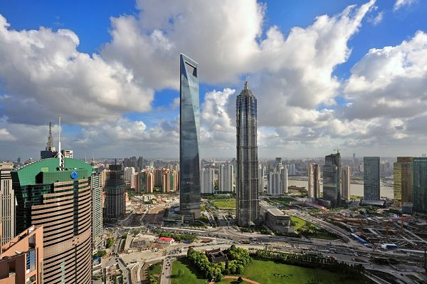 click to free download the wallpaper--Shanghai Jin Mao Tower Photography