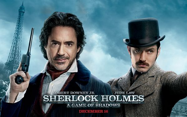 Sherlock Holmes A Game of Shadows Available in 1920x1200 Pixel, Two Handsome Guys, Never Fail to Attract Girls' Attention - TV & Movies Wallpaper