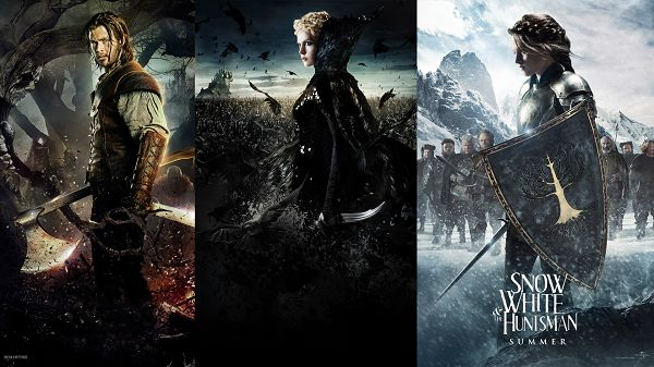 click to free download the wallpaper--Snow White and the Huntsman 2012 in 1920x1080 Pixel, All the Three Are Good-Looking, They Are Easy to Apply - TV & Movies Wallpaper