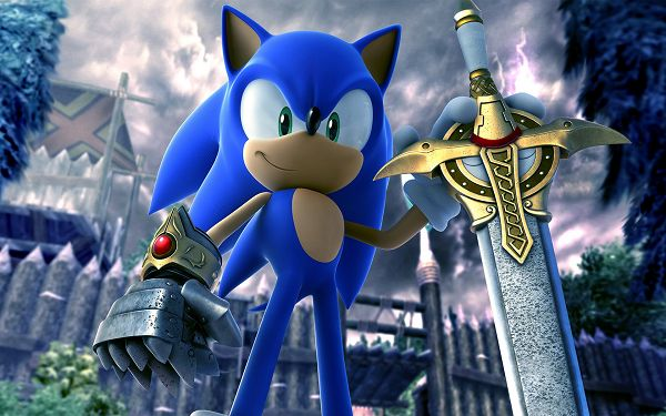 Sonic & The Black Knight Post in Pixel of 1920x1200, Blue Boy in Determined and Tough Facial Expression, Fun to Look at - TV & Movies Post