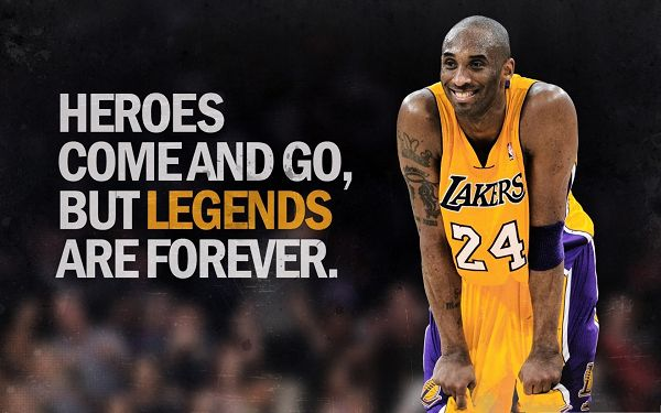 click to free download the wallpaper--Sports Wallpaper, Kobe Bryant, the Everlasting Legend