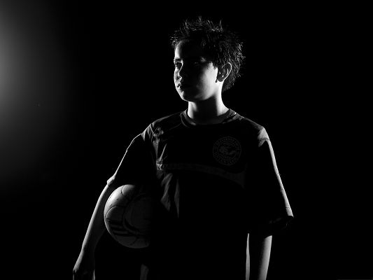click to free download the wallpaper--Sports Wallpaper, Soccer Inspiration, Little Boy with Big Dreams