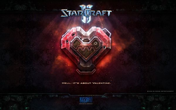 StarCraft II Game Post in Pixel of 1920x1200, a Lighted up Sign, Hell is About Valentine, Can You Believe It? - TV & Movies Post