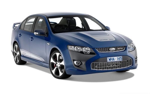 click to free download the wallpaper--Super Car as Wallpaper, Blue FPV GT Car on White Background, Incredible Look