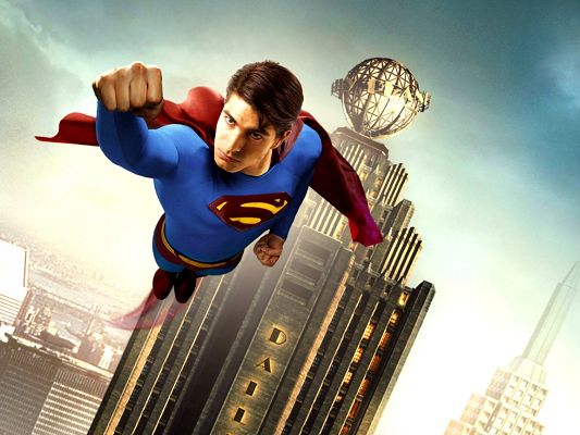 click to free download the wallpaper--TV & Movie Posts, Superman is Returning, Determined Eyesight, Highly Protective