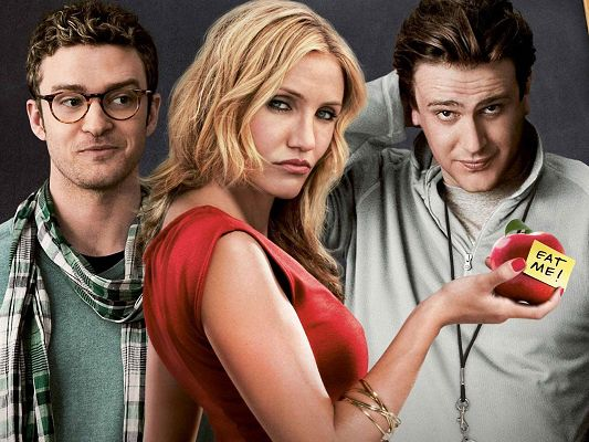 click to free download the wallpaper--TV Show Posts, Bad Teacher Cast, Is That Adam's Apple?