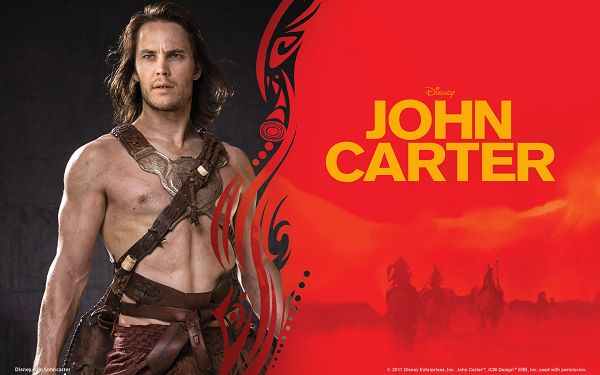 Taylor Kitsch in John Carter in 1920x1200 Pixel, a Strong and Half Naked Man, He is Indeed a Great Fit - TV & Movies Wallpaper