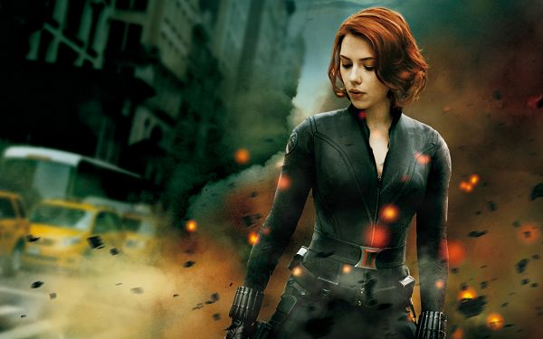 The Avengers Black Widow in 1920x1200 Pixel, an Explosion is Breaking Out, Can It Possibly be Her? - TV & Movies Wallpaper