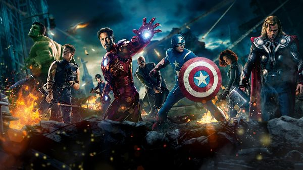 The Avengers Movie 2012 in 1920x1080 Pixel, Powerful Guys Cooperate with Each Other, They Shall Overcome Everything - TV & Movies Wallpaper