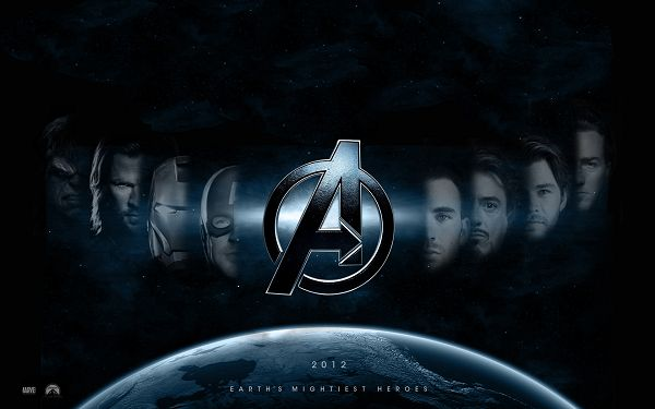 click to free download the wallpaper--The Avengers Post 2012 in 1920x1200 Pixel, a Group of Handsome and Good-Looking Guys, Face is Light is Half, Fitting Multiple Devices - TV & Movies Post