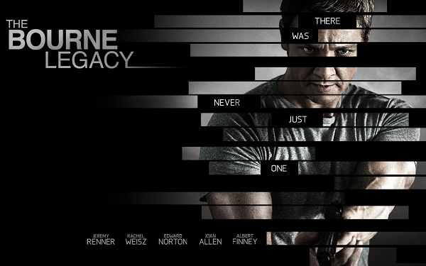 click to free download the wallpaper--The Bourne Legacy in 1920x1200 Pixel, Light Effect and Crossed Lines Available, the Man is Good-Looking and Cautious - TV & Movies Wallpaper