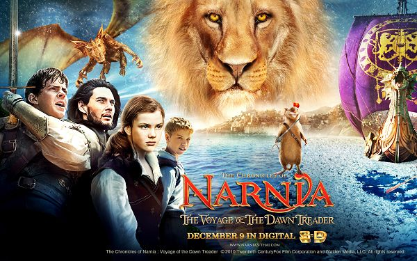 click to free download the wallpaper--The Chronicles of Narnia Post in 2560x1600 Pixel, in 3D Style, Even the Little Mouse Seems Magical and Powerful, the World is Wonderful - TV & Movies Post