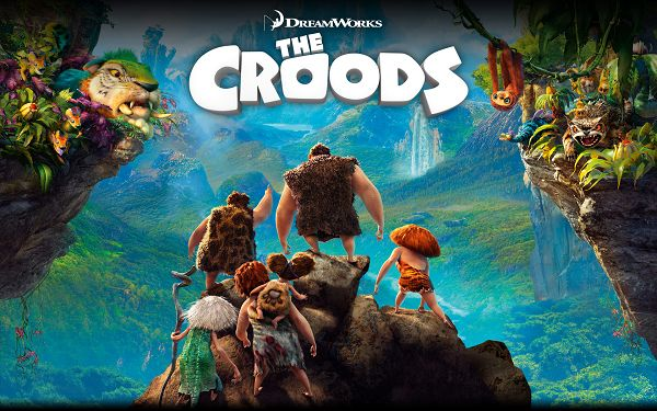 click to free download the wallpaper--The Croods 2013 in 1920x1200 Pixel, All of the People Are Laboring and Having Fun in the Natural Scene, You Have Made It - TV & Movies Wallpaper