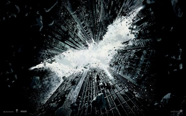 The Dark Knight Rises 2012 in 1920x1200 Pixel, Buildings are Shaking, Won't be Long Before Batman Shows up - TV & Movies Post