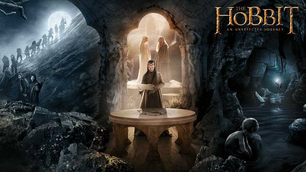 click to free download the wallpaper--The Hobbit 2 in 1920x1080 Pixel, Things Are Going Quite Smooth and Well, These Are Short and Tough Guys - TV & Movies Wallpaper