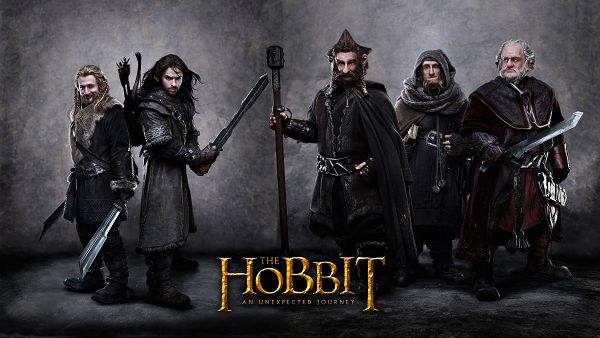 click to free download the wallpaper--The Hobbit An Unexpected Journey Post in 2840x1600 Pixel, Short Yet Hard to Beat Men, Better Stand by Their Side - TV & Movies Post