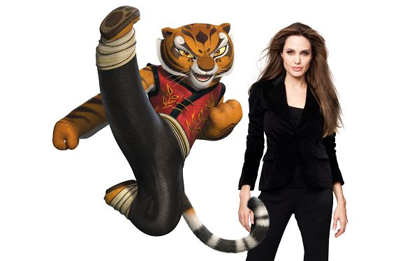 Tigress Angelina Jolie Post in 2560x1600 Pixel, the Tiger and Jolie Have Certain Resemblances, Shall be a Good Fit - TV & Movies Post