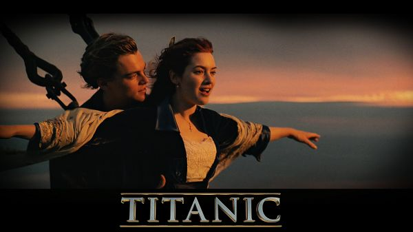 Titanic 3D in 1920x1080 Pixel, Jack and Rose in Their Favorite and Typical Pose, Much Imitated in the Following Years - TV & Movies Wallpaper