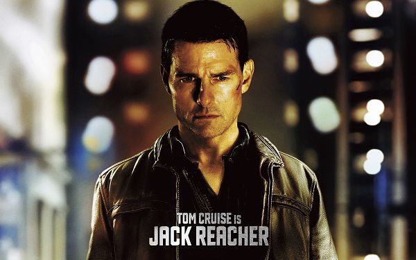 click to free download the wallpaper--Tom Cruise in Jack Reacher Wallpaper in 1920x1200 Pixel, an Injured Man is More Attractive, Night is Coming, Time to Take a Rest - TV & Movies Wallpaper