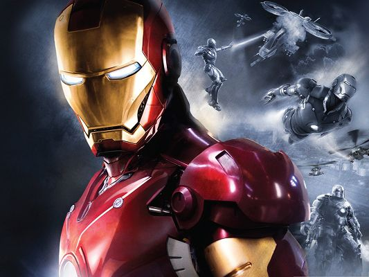 click to free download the wallpaper--Top 2013 3D Film, Iron Man 3, the Super Hero Speaking for Justice
