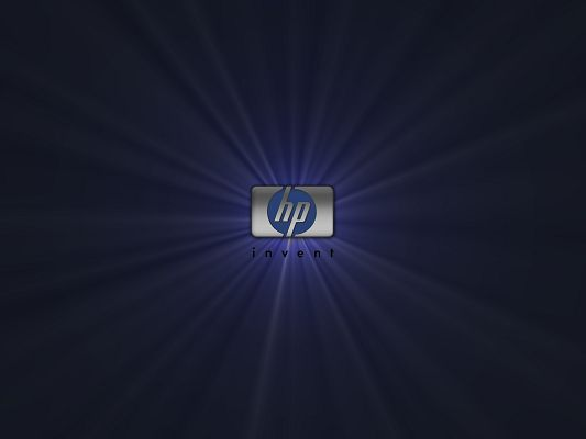click to free download the wallpaper--Top Brandy Post, HP Silver, Lights All Around the Logo