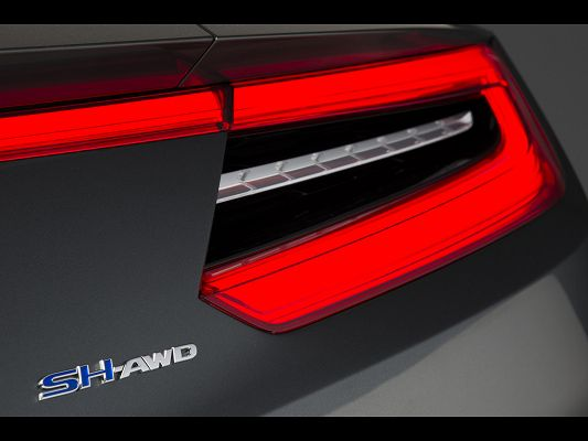 Top Cars Image of Acura NSX Concept, Red and Bright Lights, Sharp and Impressive in Look