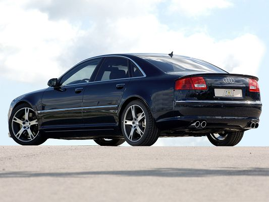 click to free download the wallpaper--Top Cars Picture, ABT Audi AS8 Car Under the Blue Sky, Nice Look