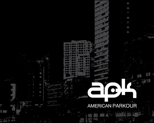 click to free download the wallpaper--Top Cool Sport Post, American Parkour Logo, Dark Scene, Should Find Lots of Followers