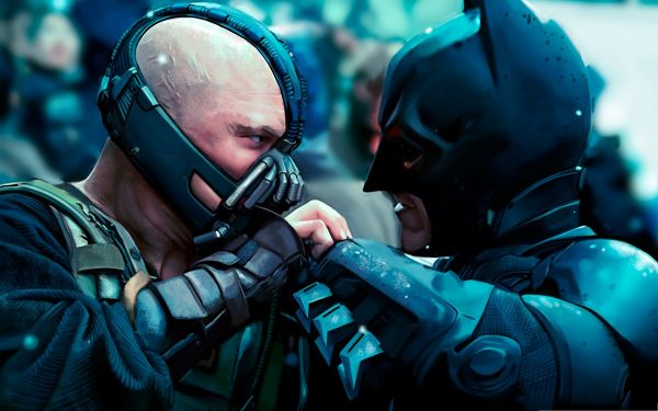 click to free download the wallpaper--Top Free Poster, Batman in Serious Fight, Hard to Beat